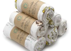 Swaddle Blankets Baby Wrap, Soft Breathable Muslin Cotton